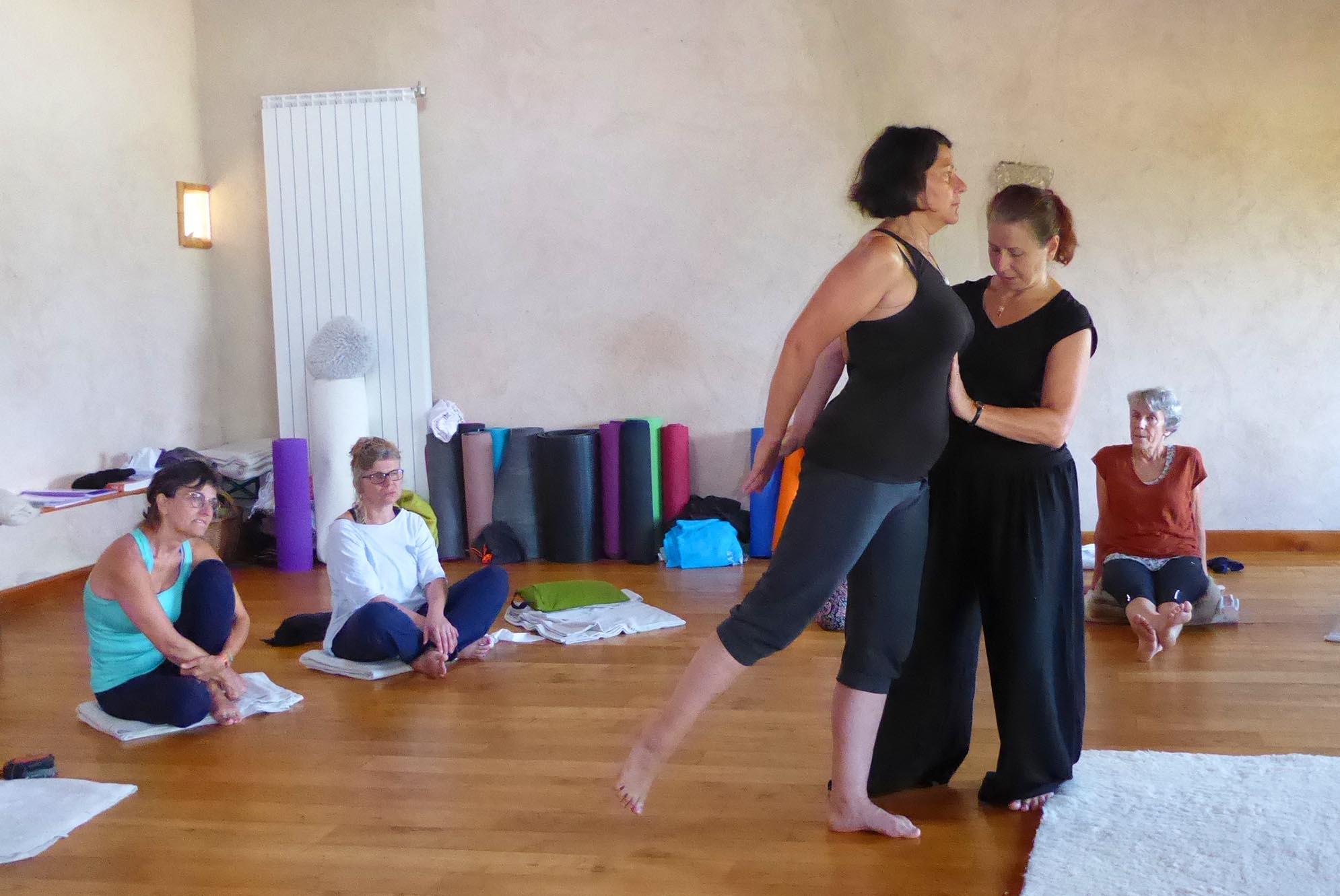 retraites de yoga dans le Luberon
