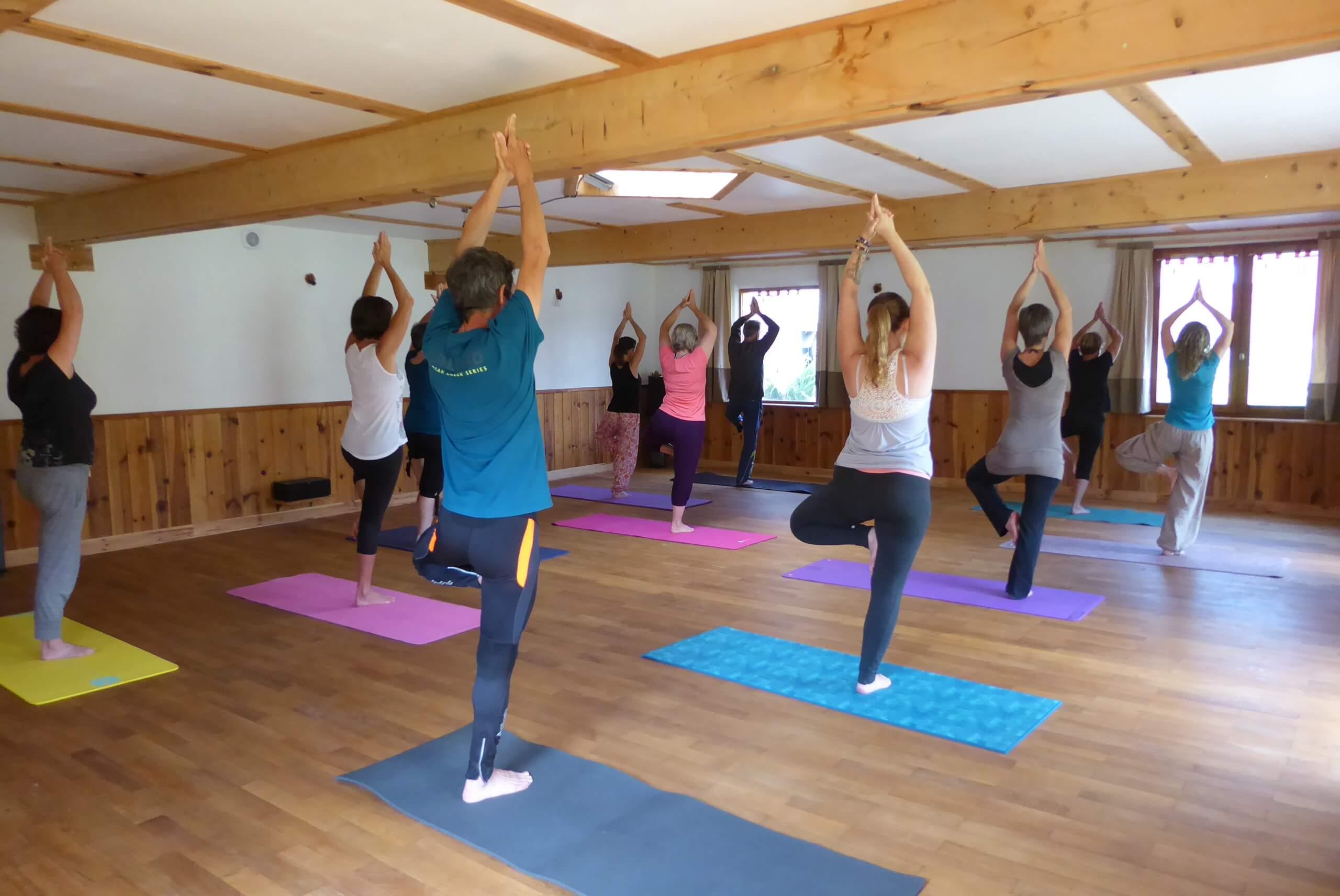 retraite de yoga dans le Luberon