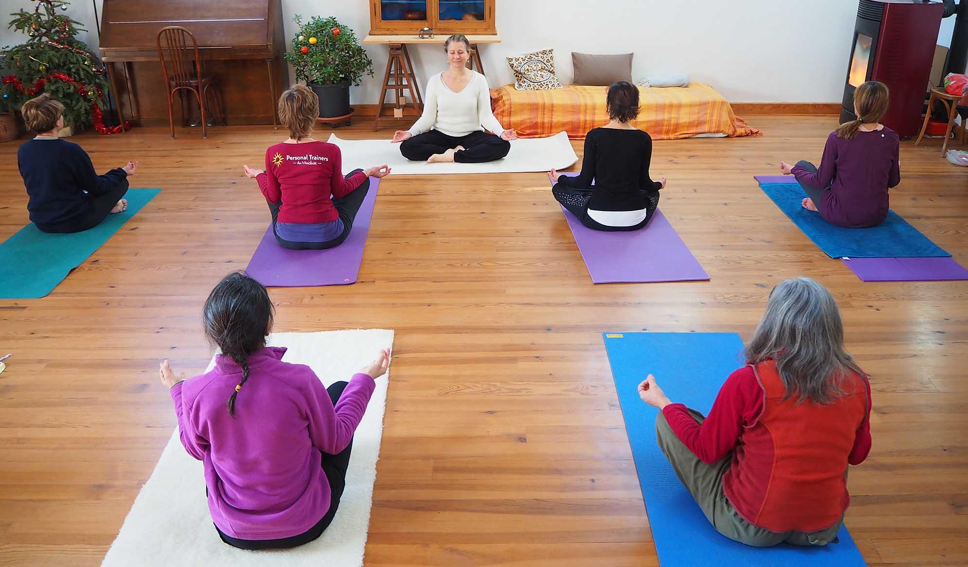 Retraite de yoga près du Ventoux dans le Vaucluse