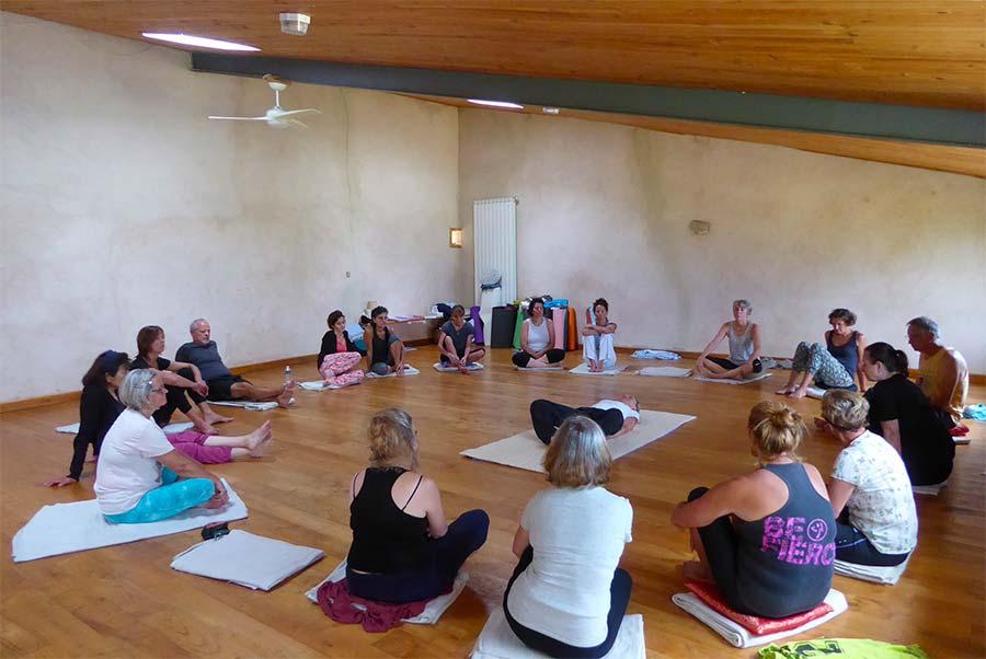 Stage de yoga en Provence
