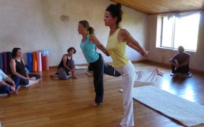 Mini-stages de yoga à Mormoiron (84)