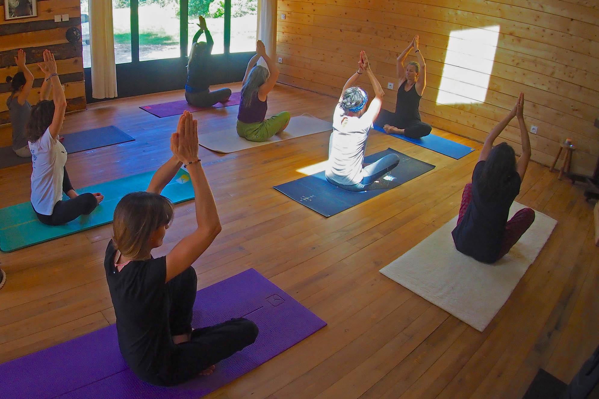 stage de yoga dans le vaucluse
